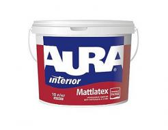 Купить Краска матовая моющаяся интерьерная Aura Mattlatex