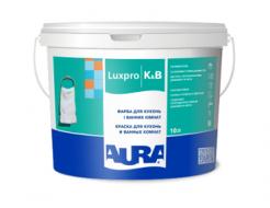 Купить Краска акрилатная для кухонь и ванных комнат Aura Luxpro K&B