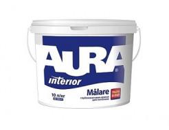 Купить Краска глубокоматовая ультрабелая для потолков Aura Malare