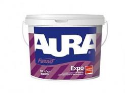 Краска универсальная для фасадов и интерьеров Aura Fasad Expo