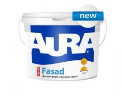 Купить Краска акриловая матовая фасадная Aura Fasad