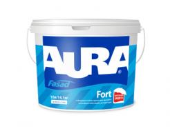 Купить Краска атмосферостойкая матовая фасадная Aura Fasad Fort