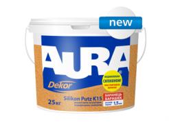 Штукатурка силиконовая AURA Dekor Silikon Putz K15 (барашек)