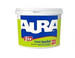 Шпаклевка акриловая финишная интерьерная Aura Fix Finish Spaсkel