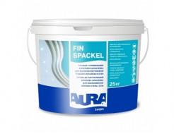 Шпаклевка акриловая для потолков и стен Aura Luxpro Fin Spaсkel