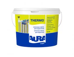 Эмаль акриловая полуматова для радиаторов Aura Luxpro Thermo