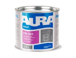 Грунтовка антикоррозионная алкидная Aura ГФ-021 черная