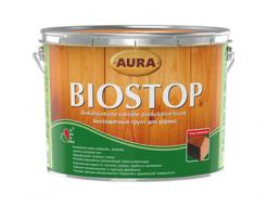 Грунт алкидный биозащитный на уайт-спирите для дерева Aura Biostop