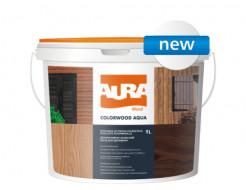 Состав декоративно-защитный для древесины Aura ColorWood Aqua палисандр - интернет-магазин tricolor.com.ua