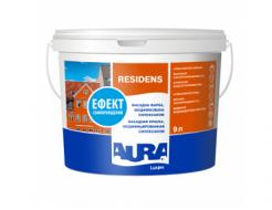 Краска фасадная модифицированная силоксаном Aura Luxpro Residens TR база