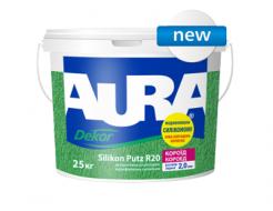 Купить Штукатурка модифицированная силиконом AURA Dekor Silikon Putz R20