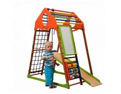 Купить Детский спортивный комплекс для дома KindWood Plus - 1