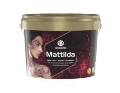 Краска полноматовая моющаяся для стен Eskaro Mattilda TR база