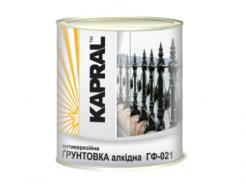 Грунтовка антикоррозионная алкидная Kapral ГФ-021 серая