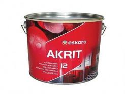 Купить Краска полуматовая моющаяся для стен Eskaro Akrit 12 TR база