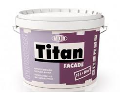 Краска атмосферостойкая матовая фасадная Titan Facade