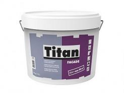 Краска атмосферостойкая матовая фасадная Titan Facade TR база