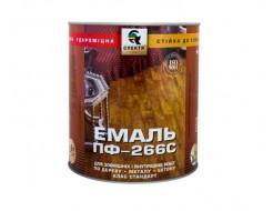Эмаль алкидная для пола ПФ-266С Стандарт Спектр желто-коричневая - интернет-магазин tricolor.com.ua