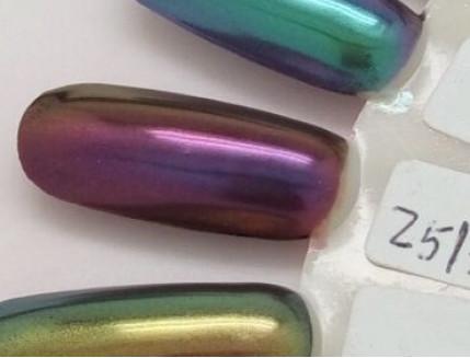Зеркальный пигмент Tricolor 2513HS медно-фиолетовый