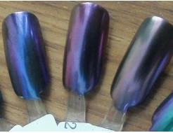 Купить Зеркальный пигмент Tricolor 2123MLG фиолетовый