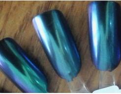 Купить Зеркальный пигмент Tricolor 2345MLG сиренево-морская волна