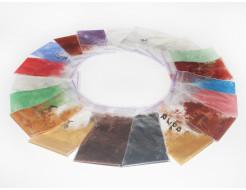 Образцы перламутровых пигментов Tricolor