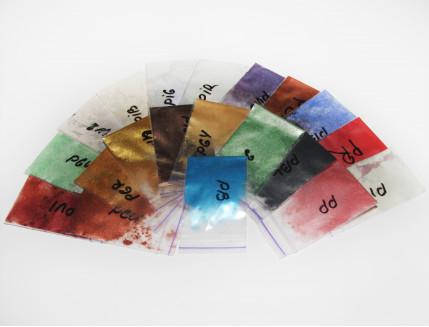 Образцы перламутровых пигментов Tricolor - изображение 2 - интернет-магазин tricolor.com.ua
