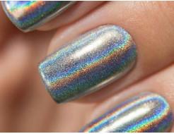 Купить Глиттер лазерный серебряный Tricolor SL-001/50 микрон - 1