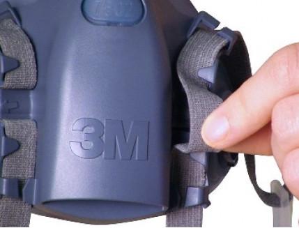 Полумаска 3M 7503, размер L - изображение 2 - интернет-магазин tricolor.com.ua