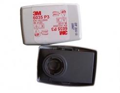 Противоаэрозольный фильтр 3М 6035 (класс защиты: P3R) пара - интернет-магазин tricolor.com.ua