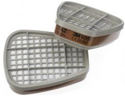 Фильтр для защиты от органических газов и паров 3М 6055 (класс защиты A2) пара