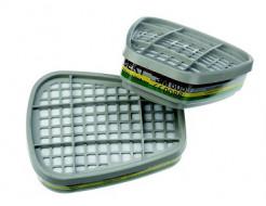 Фильтр для защиты от органических/неорганических паров, кислых газов, аммиака и производных 3M 6059 пара