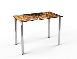 Купить Стеклянный обеденный стол S1 910*610 покраска - 1