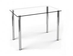 Купить Стеклянный обеденный стол S1 1200*750 прозрачный
