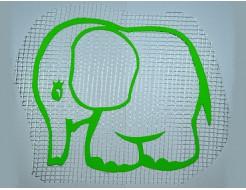 Декор для жидких обоев Слонёнок