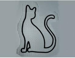 Купить Декор для жидких обоев Кот