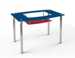 Купить Стеклянный обеденный стол S2 1100*650 покраска - 1