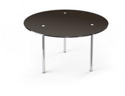 Купить Стеклянный обеденный стол R1 900*900 покраска - 1