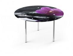 Купить Стеклянный обеденный стол R1 1100*1100 покраска - 1
