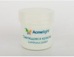 Краска светящаяся AcmeLight для творчества белая - интернет-магазин tricolor.com.ua