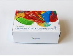 Набор люминесцентных красок для творчества AcmeLight 6 шт - интернет-магазин tricolor.com.ua