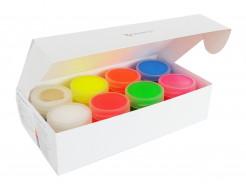Набор люминесцентных красок для творчества AcmeLight 8 шт - интернет-магазин tricolor.com.ua