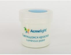 Краска люминесцентная AcmeLight для творчества классик свечение голубое - интернет-магазин tricolor.com.ua