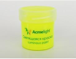 Купить Краска светящаяся AcmeLight для творчества желтая - 1