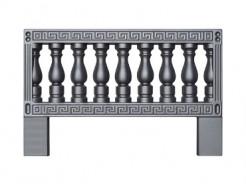 Форма ограждения 9 АБС BF 100х65х4