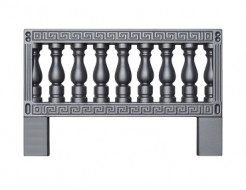 Форма ограждения 9а АБС BF 100х65х2