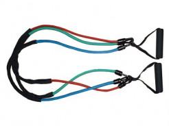 Купить Эспандер трубчатый со съемными ручками Power System PS-4008 - 1