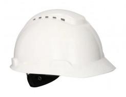 Каска защитная 3М H-700N-VI храповик, вентилируемая, белая