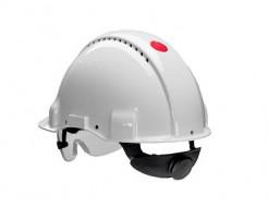 Купить Каска защитная с храповиком 3М G3000NUV-VI белая