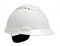 Каска защитная с храповиком 3М G3000NUV-VI белая - интернет-магазин tricolor.com.ua
